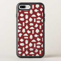 Baymax and Mochi Red Pattern OtterBox Symmetry iPhone 8 Plus/7 Plus Case