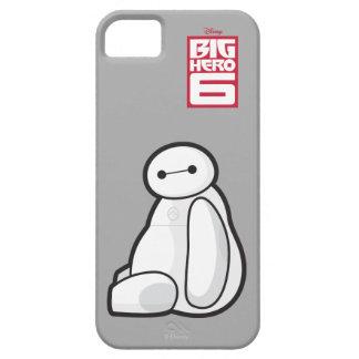 Baymax de lado que se sienta iPhone 5 Case-Mate protectores