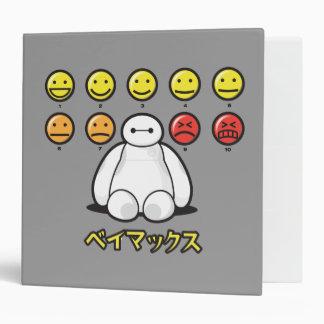 Baymax Emojicons Binders
