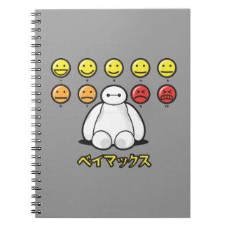Baymax Emojicons Cuadernos