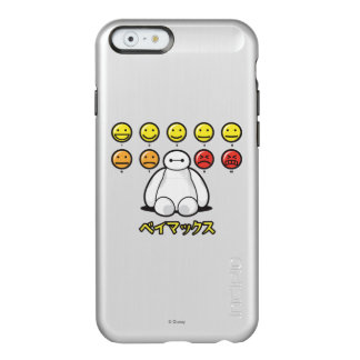 Baymax Emojicons Funda Para iPhone 6 Plus Incipio Feather Shine