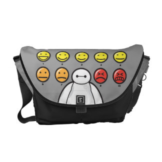 Baymax Emojicons Courier Bags