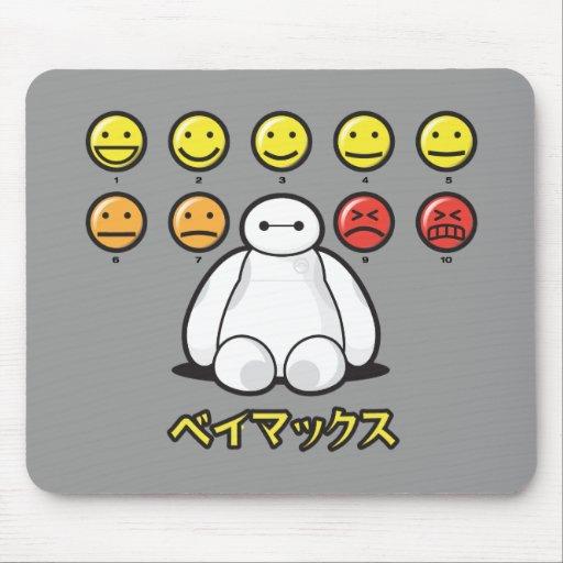 Baymax Emojicons Mouse Pad