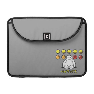 Baymax Emojicons Sleeve For MacBook Pro