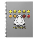 Baymax Emojicons Spiral Notebook