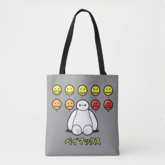 Baymax Emojicons Tote Bag