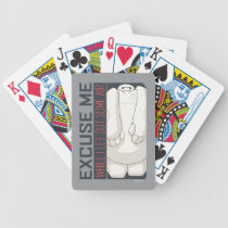 Baymax   Excuse Me Bicycle Playing Cards