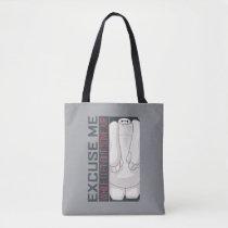 Baymax   Excuse Me Tote Bag