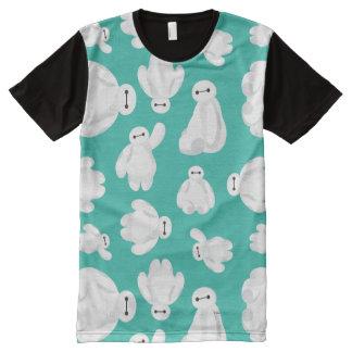 Baymax Green Classic Pattern All-Over-Print T-Shirt