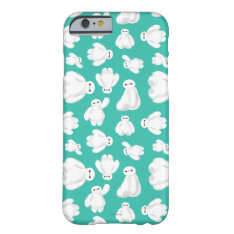 Baymax Green Classic Pattern Barely There Iphone 6 Case at Zazzle