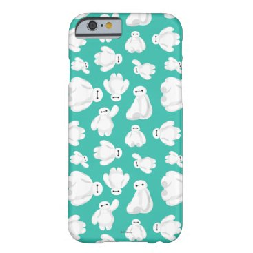 Disney Themed Baymax Green Classic Pattern Barely There iPhone 6 Case
