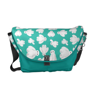 Baymax Green Classic Pattern Courier Bag