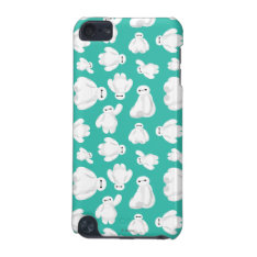 Baymax Green Classic Pattern iPod Touch (5th Generation) Cover at Zazzle