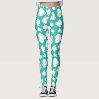 Baymax Green Classic Pattern Leggings