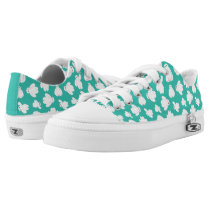 Baymax Green Classic Pattern Low-Top Sneakers