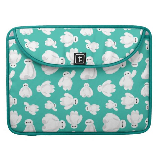 Baymax Green Classic Pattern MacBook Pro Sleeve