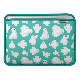 Baymax Green Classic Pattern Sleeves For MacBook Air