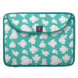 Baymax Green Classic Pattern Sleeves For MacBooks