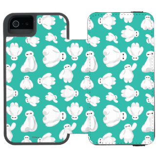 Baymax Green Classic Pattern Wallet Case For iPhone SE/5/5s