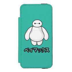 Incipio Watson™ iPhone 5/5s Wallet Case with Big Hero 6 Baymax ベイマックス design