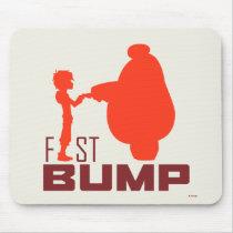 Baymax & Hiro   Fist Bump Mouse Pad