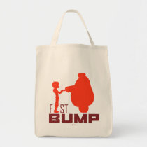 Baymax & Hiro   Fist Bump Tote Bag