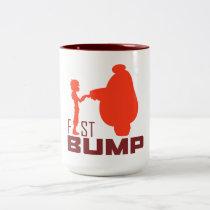 Baymax & Hiro | Fist Bump Two-Tone Coffee Mug