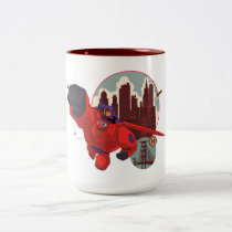 Baymax & Hiro | Hero Up Two-Tone Coffee Mug