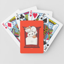 Baymax & Mochi | Supportive Type Bicycle Playing Cards