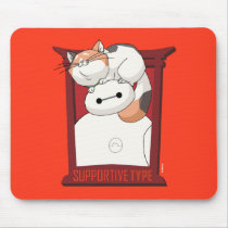 Baymax & Mochi   Supportive Type Mouse Pad