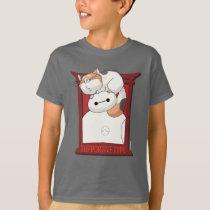 Baymax & Mochi   Supportive Type T-Shirt