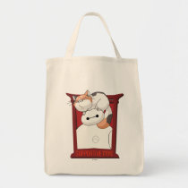 Baymax & Mochi   Supportive Type Tote Bag