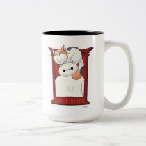 Baymax & Mochi | Supportive Type Two-Tone Coffee Mug