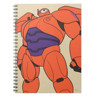 Baymax Orange Suit Notebook