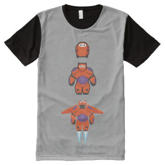 Baymax Orange Super Suit All-Over-Print Shirt