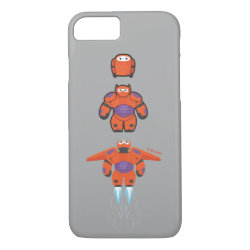 Case-Mate Barely There iPhone 7 Case with Baymax Mech Flight Take-Off design