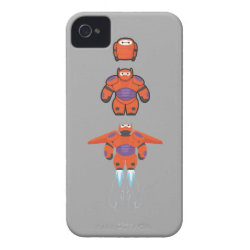 Case-Mate iPhone 4 Barely There Universal Case with Baymax Mech Flight Take-Off design
