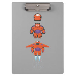 Clipboard with Baymax Mech Flight Take-Off design
