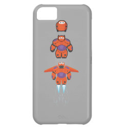 Case-Mate Barely There iPhone 5C Case with Baymax Mech Flight Take-Off design