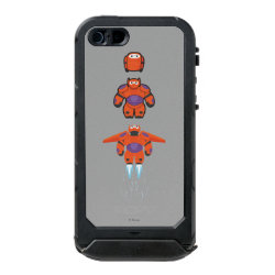 Incipio Feather Shine iPhone 5/5s Case with Baymax Mech Flight Take-Off design