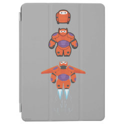 iPad Air Cover with Baymax Mech Flight Take-Off design