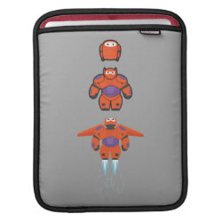 iPad Sleeve with Baymax Mech Flight Take-Off design