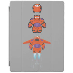 iPad 2/3/4 Cover with Baymax Mech Flight Take-Off design