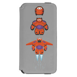 Incipio Watson™ iPhone 6 Wallet Case with Baymax Mech Flight Take-Off design