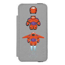 Incipio Watson™ iPhone 5/5s Wallet Case with Baymax Mech Flight Take-Off design