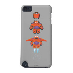 Case-Mate Barely There 5th Generation iPod Touch Case with Baymax Mech Flight Take-Off design