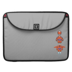 Macbook Pro 15' Flap Sleeve with Baymax Mech Flight Take-Off design