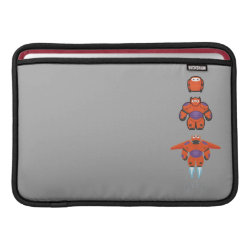 Baymax Mech Flight Take-Off Macbook Air Sleeve