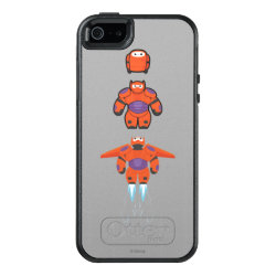 OtterBox Symmetry iPhone SE/5/5s Case with Baymax Mech Flight Take-Off design