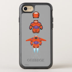 OtterBox Apple iPhone 7 Symmetry Case with Baymax Mech Flight Take-Off design